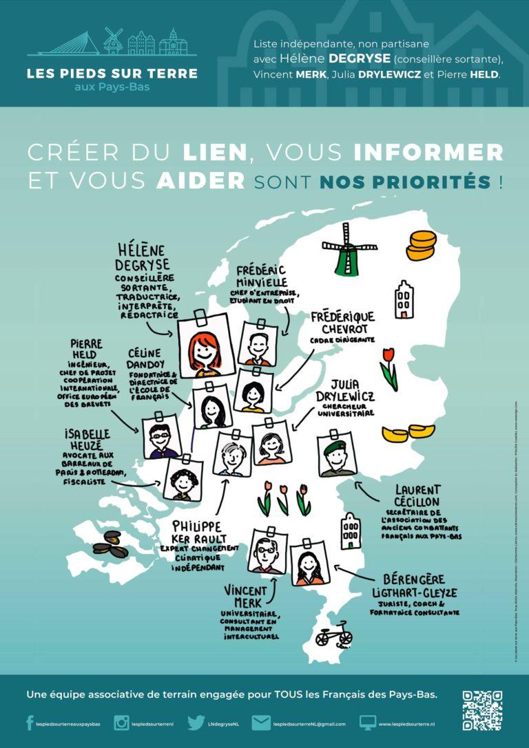 Read more about the article « Francine à vélo » : 10 questions à Hélène DEGRYSE, les pieds sur terre aux Pays-Bas.